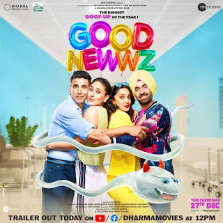 Good Newwz Budget, Screens And Day Wise Box Office Collection India, Overseas, WorldWide