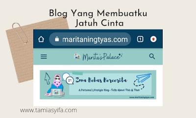 Blog favoritku Marita's palace