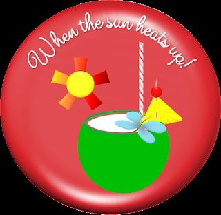 Etiquetas, Stickers o Toppers Veraniegos para Imprimir Gratis.