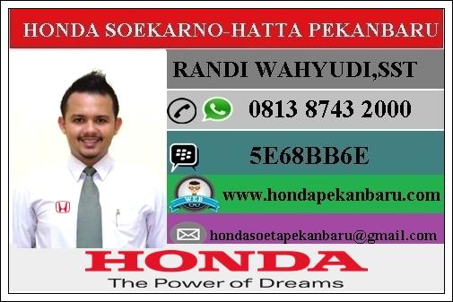 Sales Honda Riau 081387432000