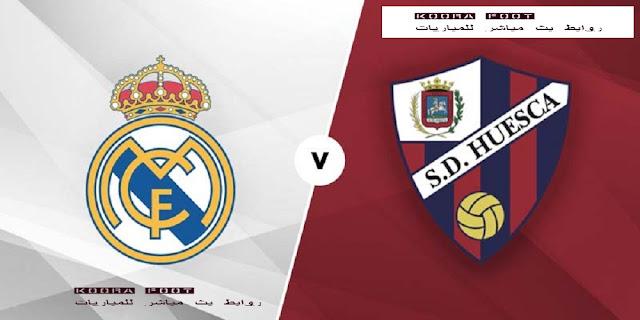 شاهد مباراة ريال مدريد وهويسكا بث مباشر فى الدوري الإسباني