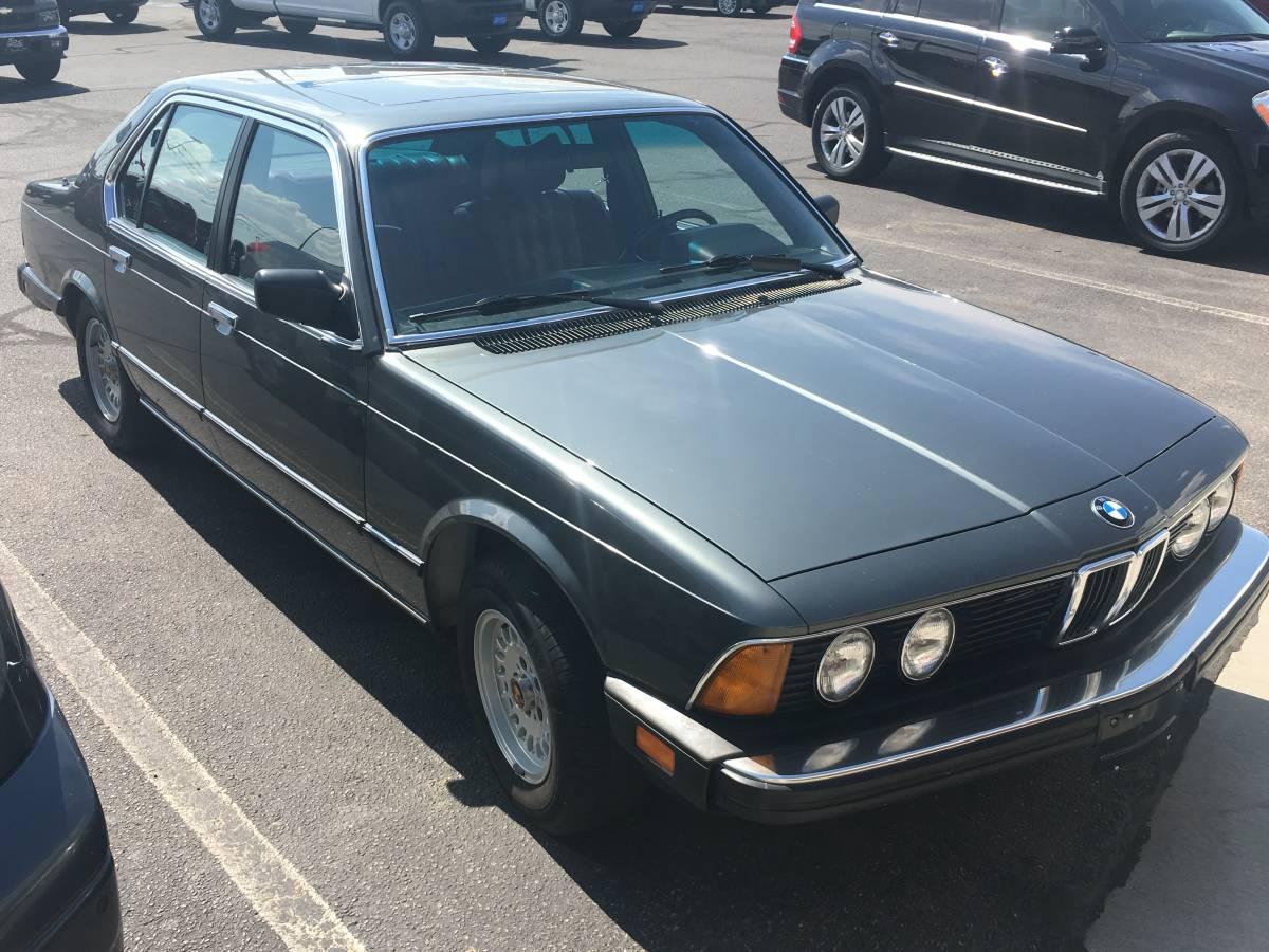 Daily Turismo: One Owner: 1983 BMW 733i E23