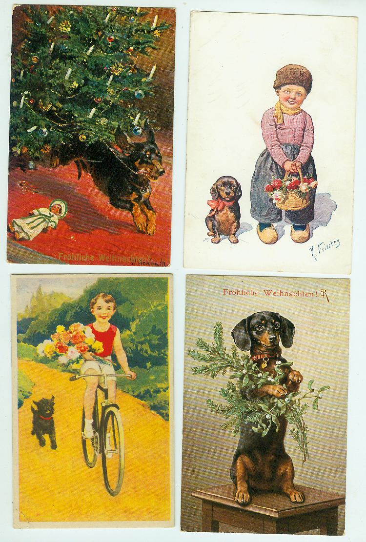 Postkarten Um 1900