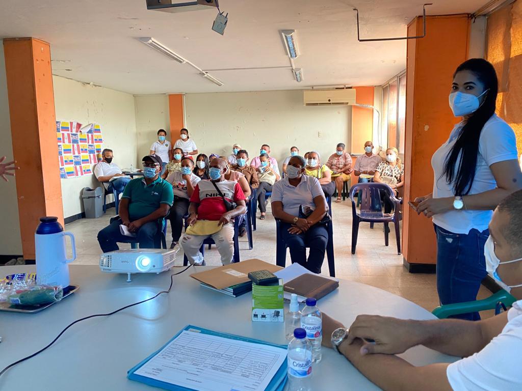 hoyennoticia.com, Capacitan a lideres comunales de Maicao para que accedan a programas de MinInterior