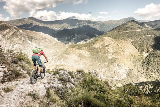 MTB Mountainbike Tour Frankreich / Italien - Colle di Tenda Teil II Update 2019