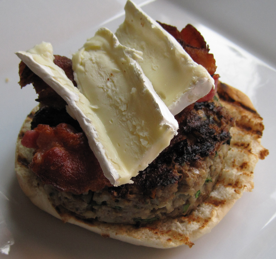 Brie and Bacon Burgers