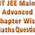 MATHEMATICS CHAPTERWISE TEST PAPERS