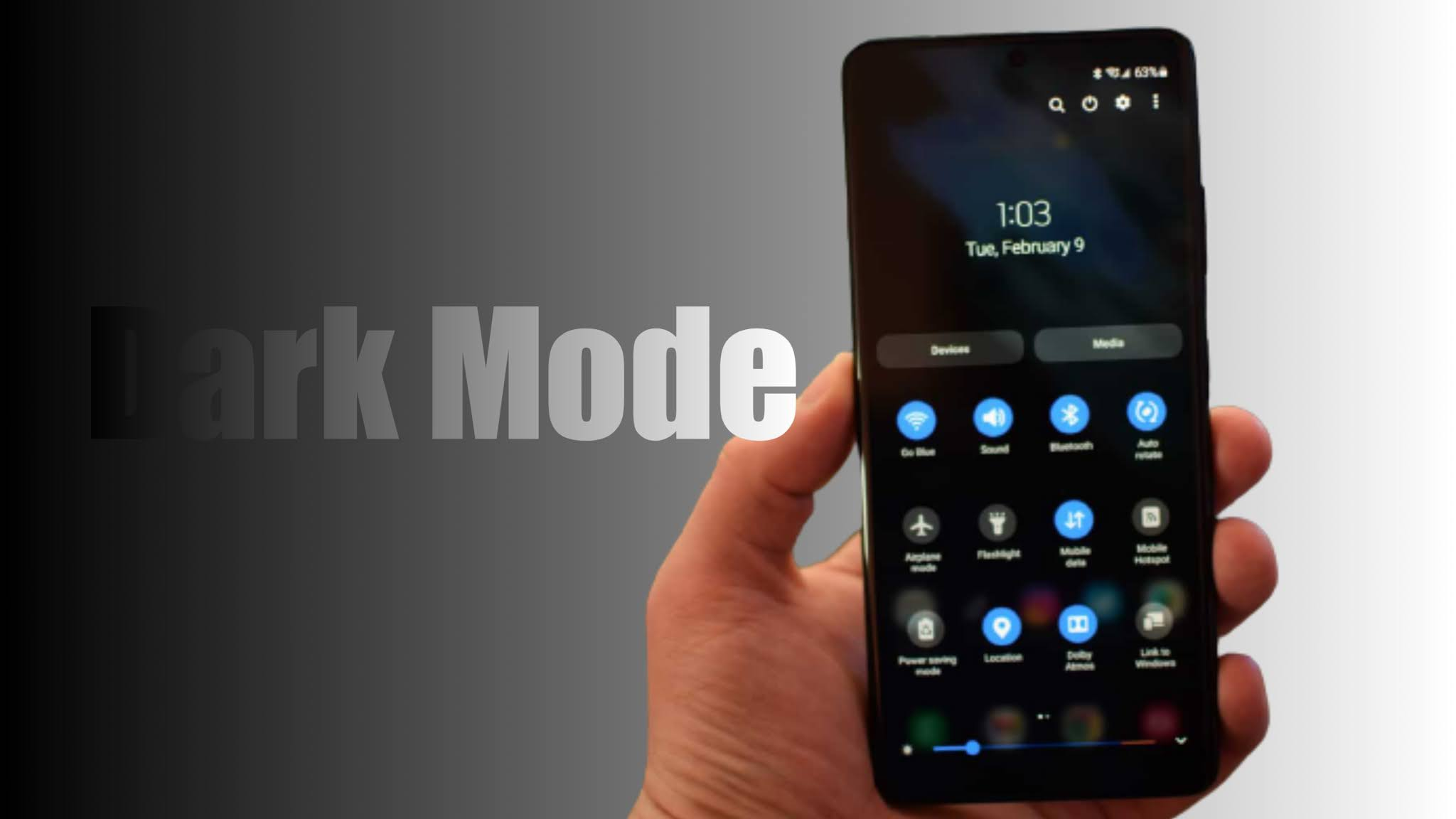 How To Enable Dark Mode On Samsung Galaxy S21 Series