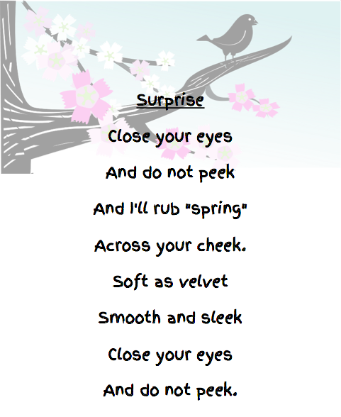 A spring poem for K or Grade 1. Included is a fun egg activity.