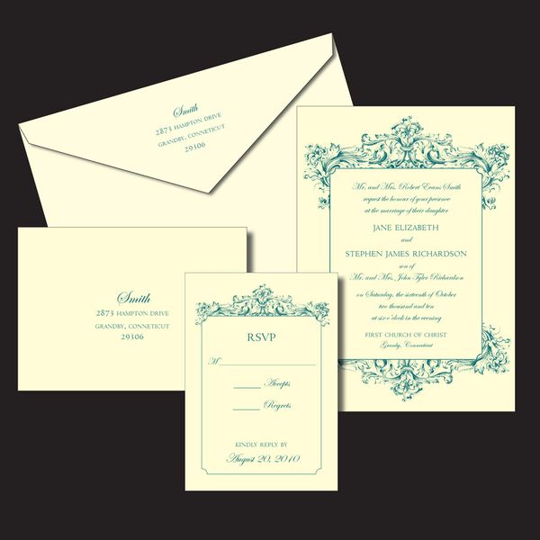 Bride-In-Dream: How To Address Your Wedding Invitation
