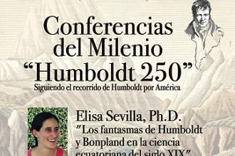 Conferencias del Milenio Humboldt 250 en Loja