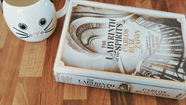 Labyrinth of Spirits by Carlos Ruiz Zafón book cover