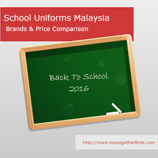 School Uniforms Malaysia Brands And Price Comparison For Back To School 2016