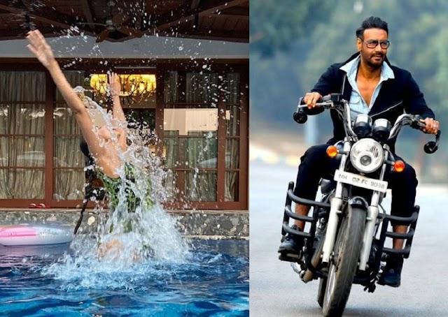 Ajay Devgan ने बेहद आकर्षक तस्वीर शेयर कर दी नए वर्ष की बधाई, तो मलाइका ने ऐसे विदा किया साल 2020 को