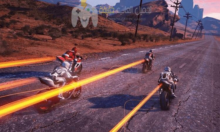 تحميل لعبة MOTO RACER 4