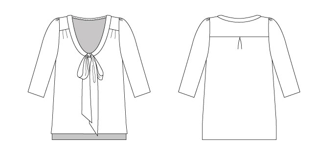 Tilly And The Buttons Introducing Our Bow Blouse Pattern For Simply