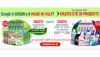 Spendi&Riprendi Casa Henkel : 57 euro in regalo 1 kit di pari importo Green o Made in Italy e non solo !