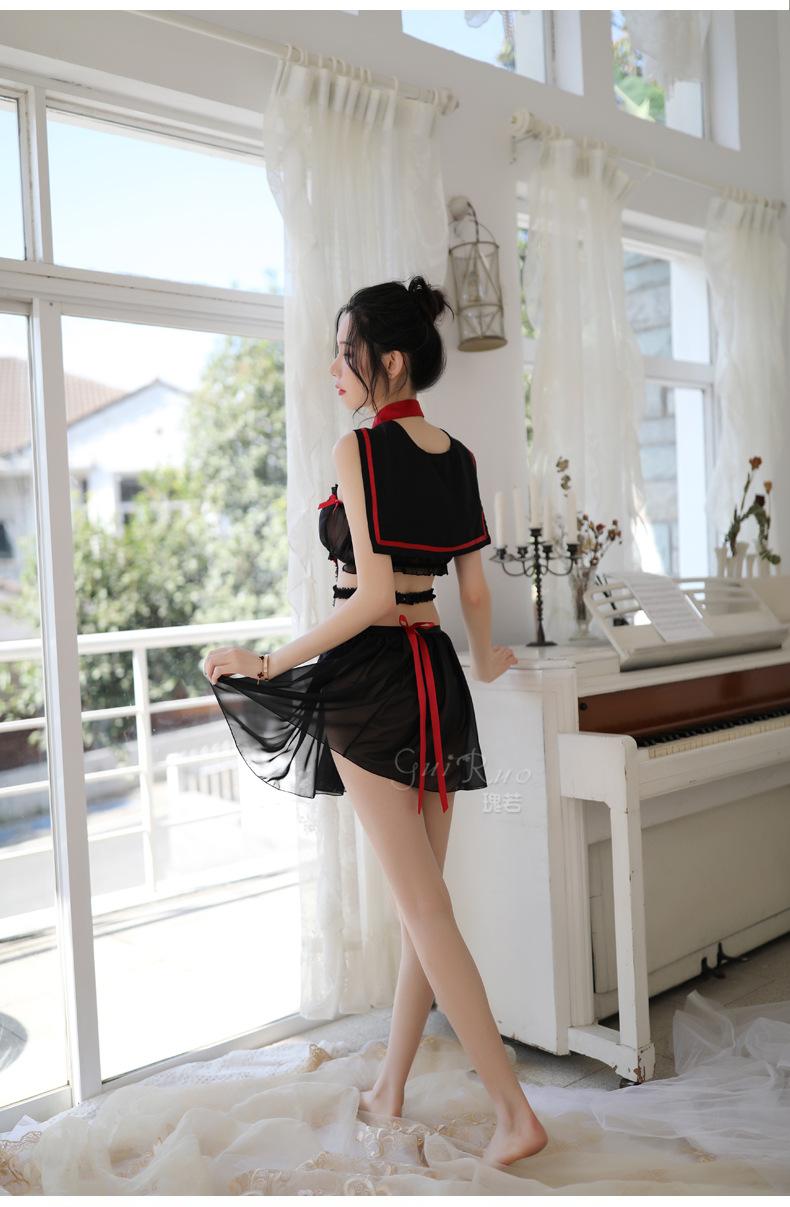 Váy ngủ đồng phục cosplay thuỷ thủ 6