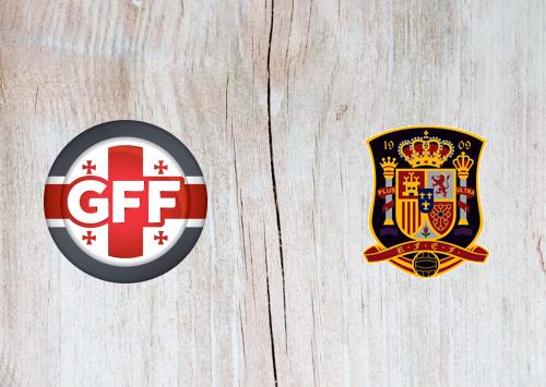 Georgia vs Spain -Highlights 28 March 2021