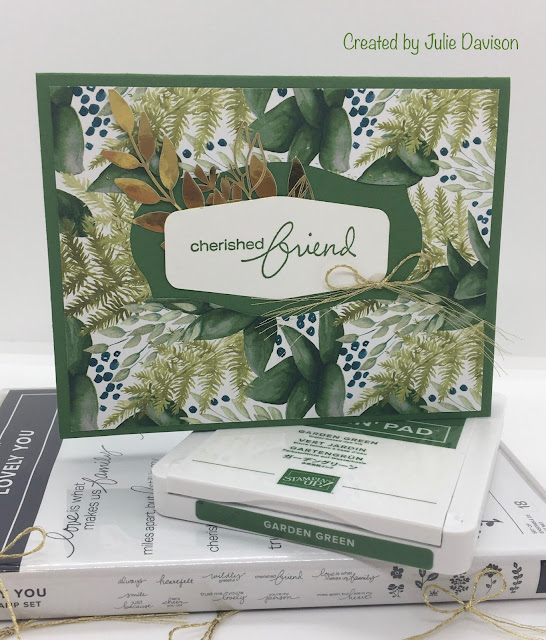 Stampin' Up!, Forever Greenery, Lovely You, Tasteful Label, www.stampingwithsusan.com