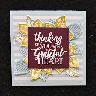 Stampin' Up! Holiday Catalog ~ 12 Falling for Leaves Projects