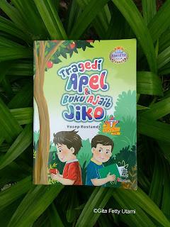 Novel Tragedi Apel dan Buku Ajaib Jiko