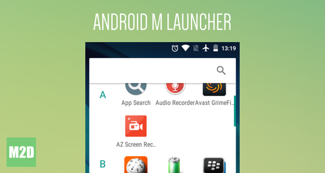Launcher Android M Terbaru