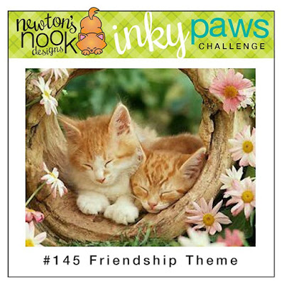 Newton's Nook Designs Inky Paws Challenge - Friendship Theme