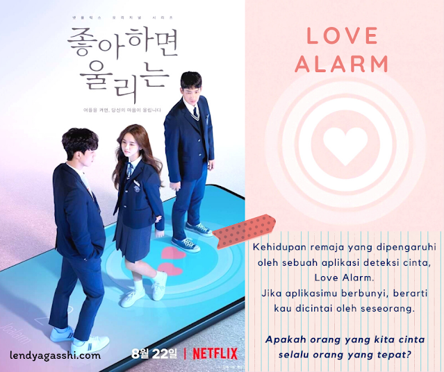 Review Drama Love Alarm : Song Kang, Kim So Hyun, Jung Garam