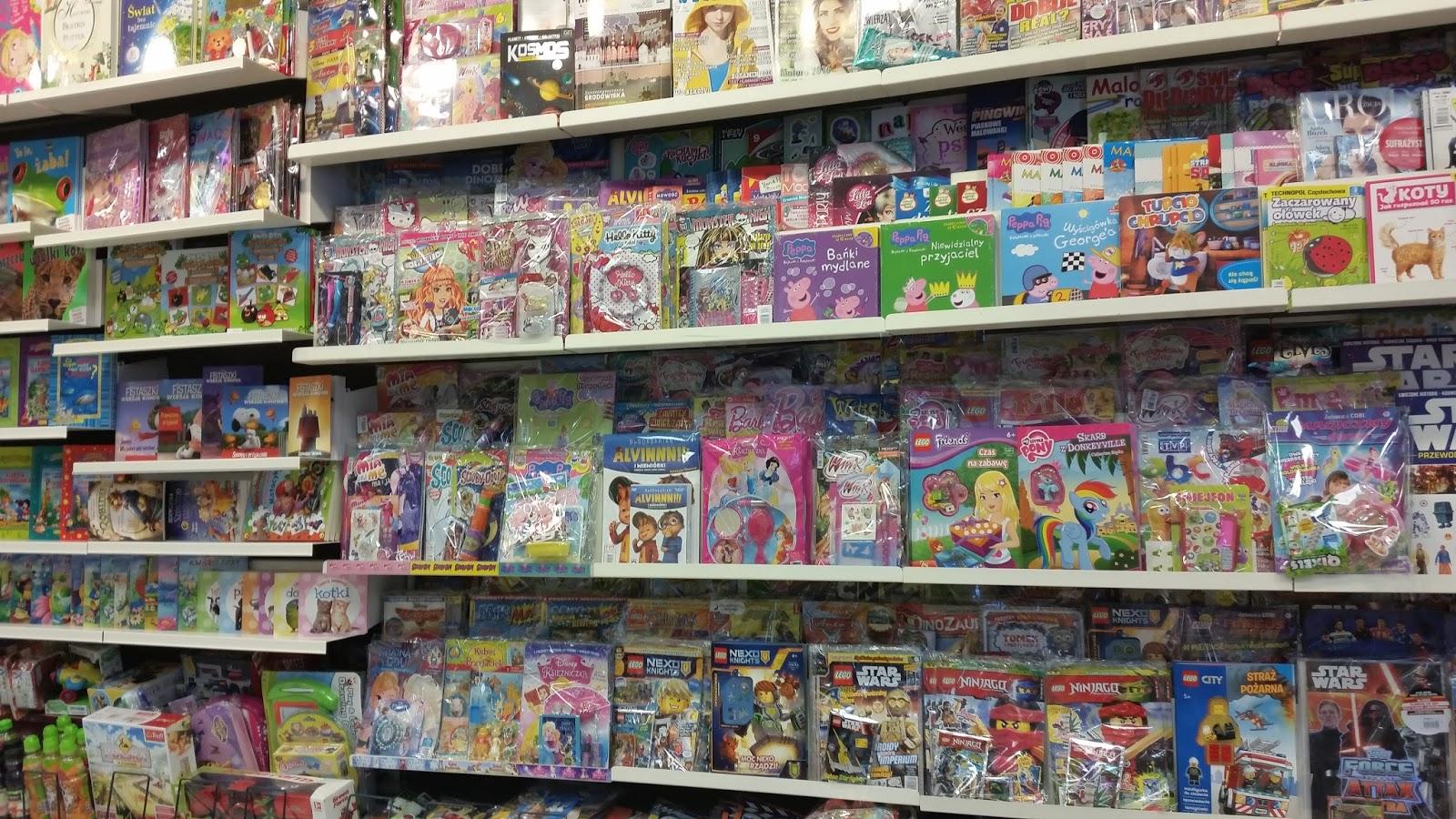 Sieci handlowe takie jak Smyk, ToysUrUs zadbają o uprzyjemnienie czasu dzieci. W sklepach pokroju Cocodrillo, Baby Akpol czy Baby Pol nabędziemy piękne, wygodne ubranka, wózki, smoczki, akcesoria do utrzymania niemowląt w czystości.