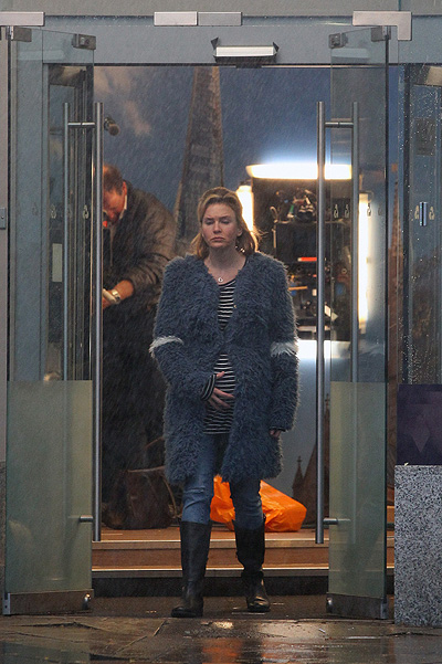 Bridget Jones ' Baby: first photo of Renee Zellweger with filming