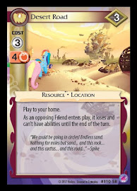 My Little Pony Desert Road Seaquestria and Beyond CCG Card