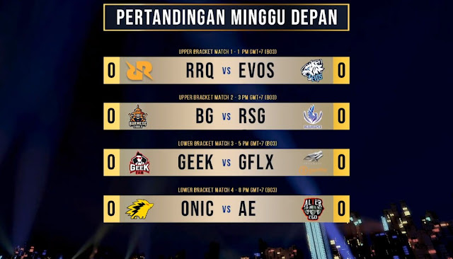 Jadwal Live Stream MPL Invitational Babak Playoffs Day 1, 2, dan 3
