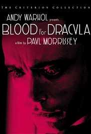 Blood for Dracula 1974 Andy Warhol's Dracula