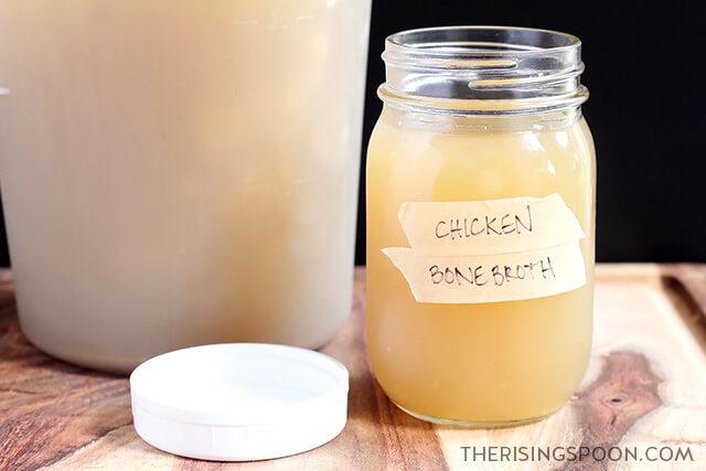 Slow Cooker Chicken Bone Broth