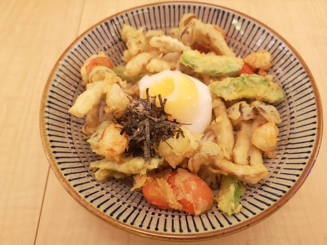 Tem Chirashi Udon