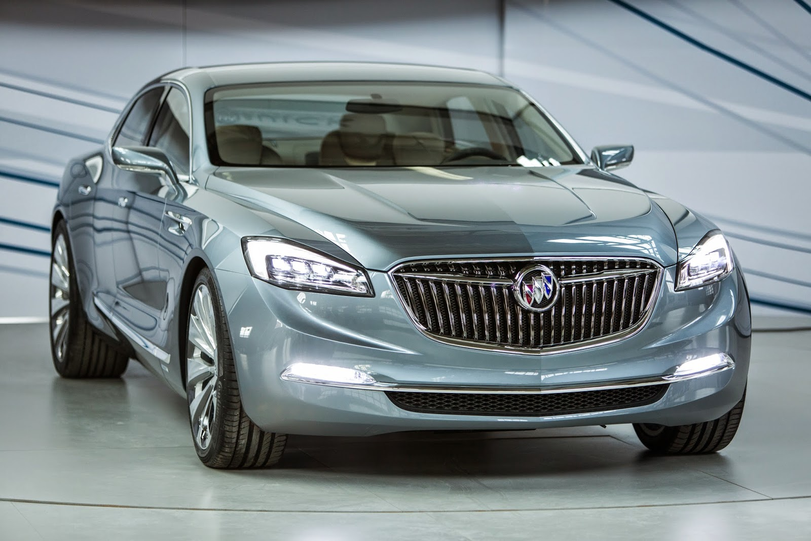 Buick Avenir Concept Car Debut at the Detroit Auto Show