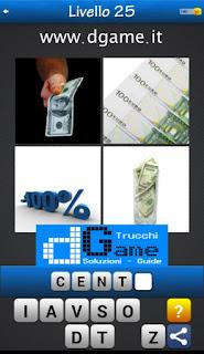 PACCHETTO 4 Soluzioni Trova la Parola - Foto Quiz soluzione livello 25