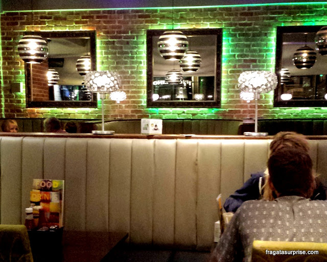 Onde comer em Liverpool: The Slug and Lettuce