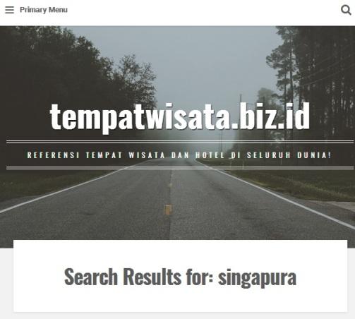 Gambar Laman Beranda tempatwisata.biz.id