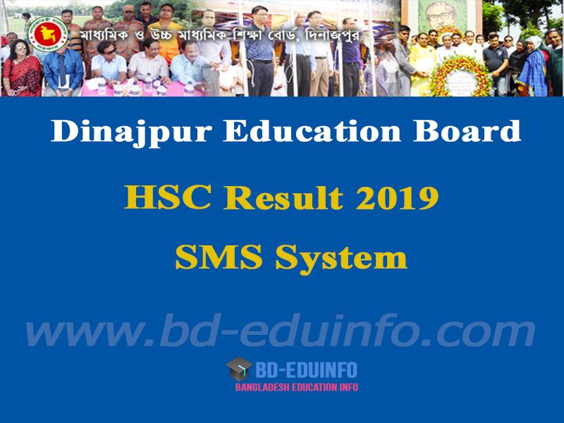 Dinajpur Board HSC Results 2019