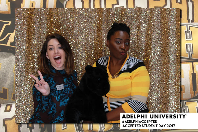 photo booth, sequins backdrop, event photo booth college, Adelphi University