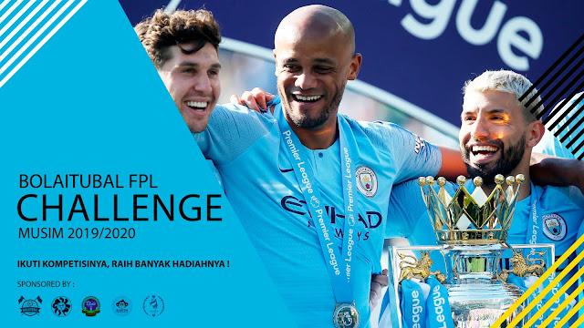 Bolaitubal FPL Challenge Musim 2019/2020 - Ikuti dan Menangkan Hadiahnya!