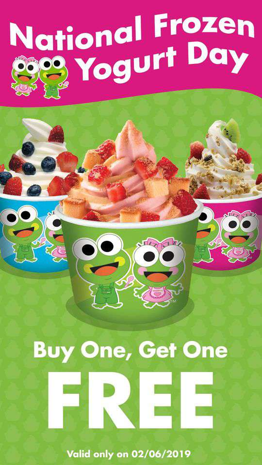 National Frozen Yogurt Day Wishes Sweet Images
