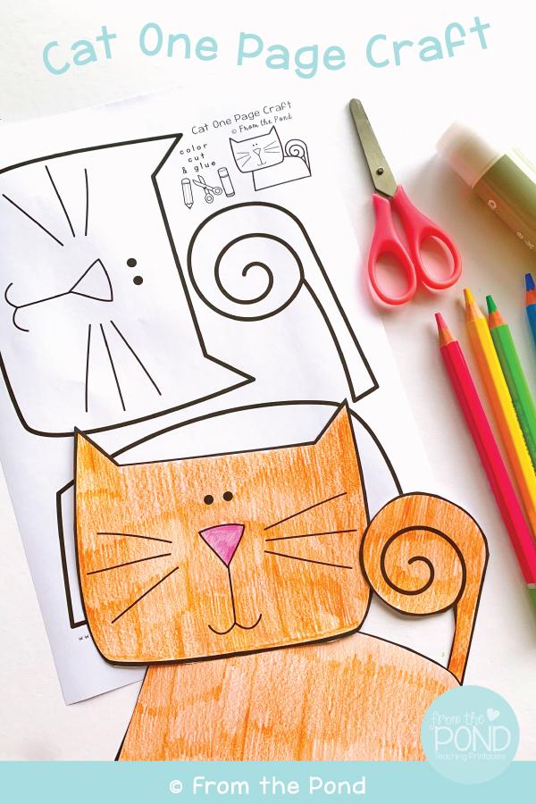 Cat Craft Printable
