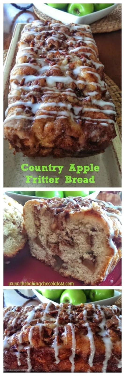 ★★★★☆ 1261 ratings ⋅ Awesome Country Apple Fritter Bread Recipe  #HEALTHYFOOD #EASYRECIPES #DINNER #LAUCH #DELICIOUS #EASY #HOLIDAYS #RECIPE #DESSERTS #SPECIALDIET #WORLDCUISINE #CAKE #APPETIZERS #HEALTHYRECIPES #DRINKS #COOKINGMETHOD #ITALIANRECIPES #MEAT #VEGANRECIPES #COOKIES #PASTA #FRUIT #SALAD #SOUPAPPETIZERS #NONALCOHOLICDRINKS #MEALPLANNING #VEGETABLES #SOUP #PASTRY #CHOCOLATE #DAIRY #ALCOHOLICDRINKS #BULGURSALAD #BAKING #SNACKS #BEEFRECIPES #MEATAPPETIZERS #MEXICANRECIPES #BREAD #ASIANRECIPES #SEAFOODAPPETIZERS #MUFFINS #BREAKFASTANDBRUNCH #CONDIMENTS #CUPCAKES #CHEESE #CHICKENRECIPES #PIE #COFFEE #NOBAKEDESSERTS #HEALTHYSNACKS #SEAFOOD #GRAIN #LUNCHESDINNERS #MEXICAN #QUICKBREAD #LIQUOR