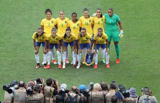 A Seleção Brasileira Feminina ficou com o primeiro lugar do Grupo nos Jogos  Rio 2016 d62780cb74422
