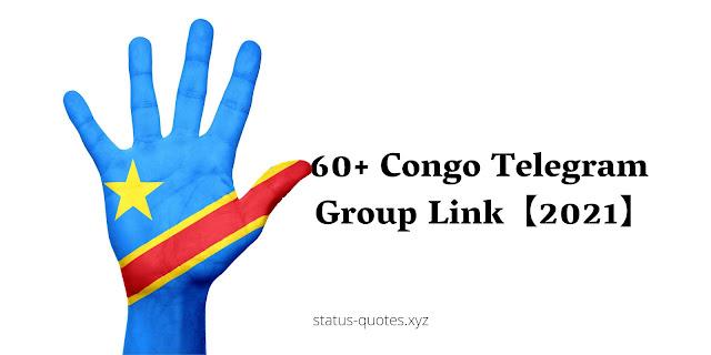 60+ Congo Telegram Group Link【2021】