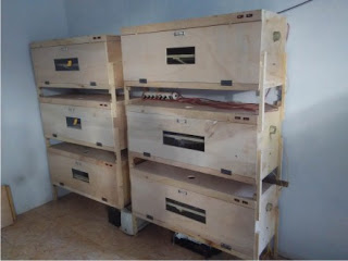 chicken egg incubator machine from wood