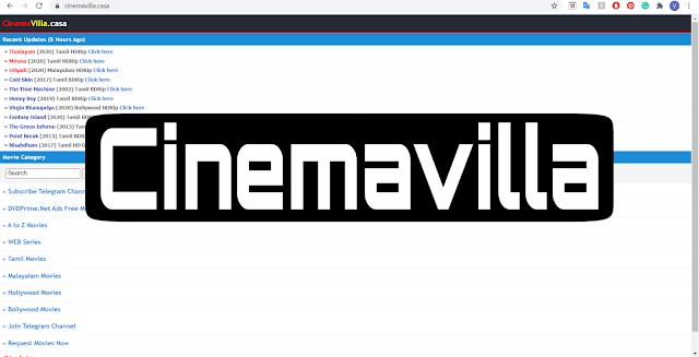 Cinemavilla 2020: Malayalam Movies Download Cinemavilla DVDWAP DVDPLAY MALLUMV Cinemavilla.casa